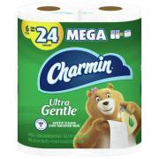 Charmin Ultra Gentle Mega Rolls Bathroom Tissue