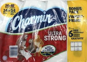 Charmin Ultra Strong Bath Tissue
