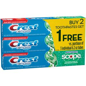 Crest Complete Whitening Scope Toothpaste