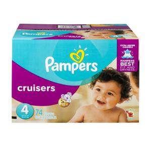 Pampers Size 4 Cruisers Super Pack