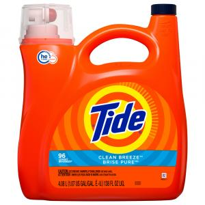 Tide HE Clean Breeze Laundry Detergent