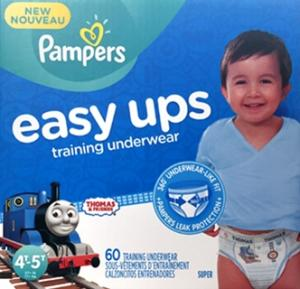 Pampers Easyups Boy 4t-5t