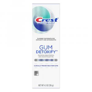 Crest Gum Detoxify Gentle Whitening Tooth Paste