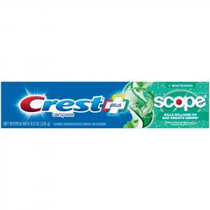 Crest Whitening Expressions & Minty Fresh Scope Toothpaste