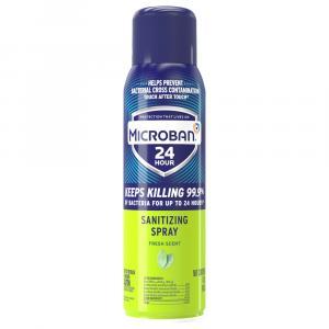 Microban Sanitizing Spray Fresh Scent