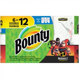 Bounty Select-a-size Prints Incredibles 2 Paper Towels