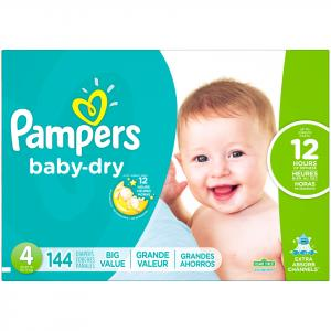 Pampers Size 4 Baby Dry Diapers
