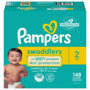 Pampers Swaddlers Size 2 Enormous Pack