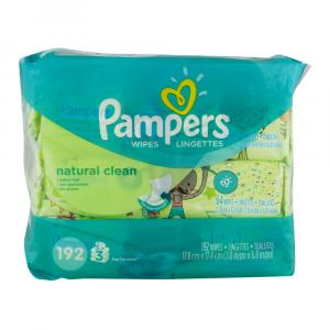 Pampers Natural Clean Fitment 3x