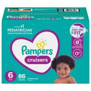 Pampers Size 6 Cruisers Diapers