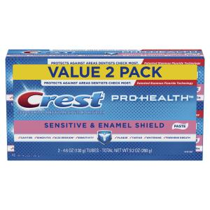 Crest Pro-Health Sensitive & Enamel Shield Toothpaste