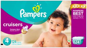 Pampers Size 4 Cruisers Diapers
