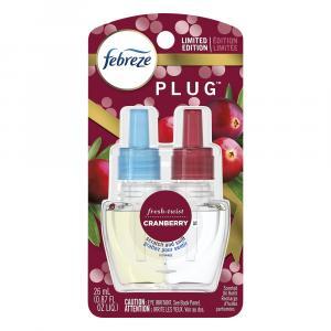 Febreze Plug Cranberry Scented Refill