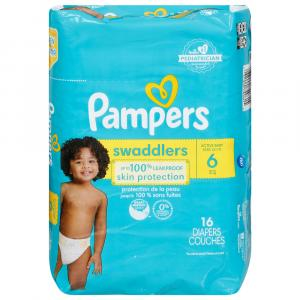 Pampers Size 6 Swaddlers Jumbo Pack