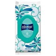 Always Feminine Wipes Fresh & Clean