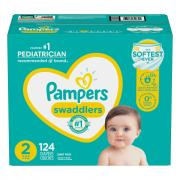 Pampers Swaddlers Size 2 Diapers Giant Pack