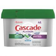 Cascade Platinum Dawn + Oxi ActionPacs Dishwasher Detergent