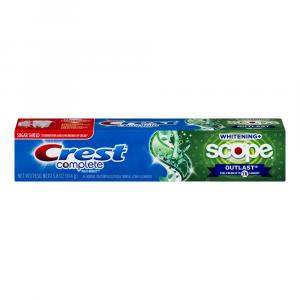 Crest Extra Whitening Plus Scope Outlast Mint Toothpaste