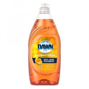 Dawn Ultra Antibacterial Orange Dishwashing Liquid
