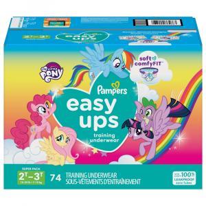 Pampers Trolls Easyups Girls 2T-3T