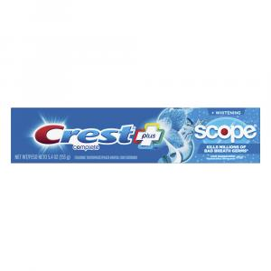 Crest Complete Plus Whitening Scope Cool Peppermint