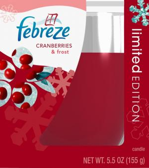 Febreze Cranberry & Frost Candle
