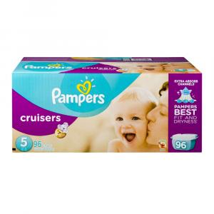 Pampers Size 5 Cruisers Giant Pack