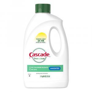 Cascade Free & Clear Unscented Dishwasher Detergent
