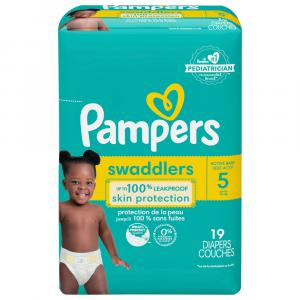 Pampers Size 5 Swaddlers Jumbo Pack