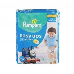 Pampers Easy Ups Boy's Training Pants Size 6