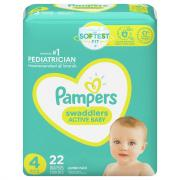 Pampers Size 4 Swaddlers Jumbo Pack