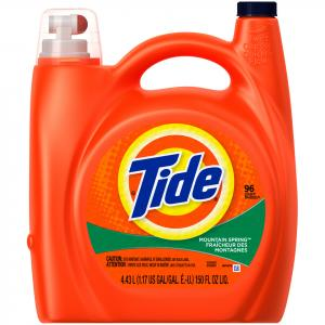 Tide 2x Mountain Spring Laundry Detergent