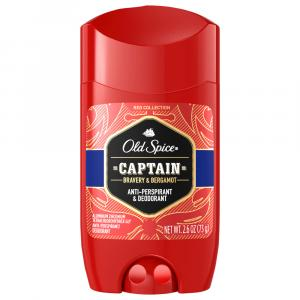 Old Spice Red Collection Captain Scent of Command