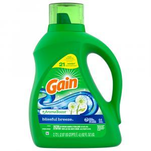 Gain Aroma Boost Blissful Breeze Liquid Laundry Detergent