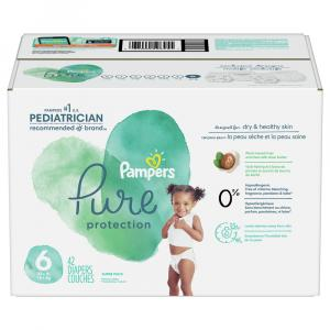 Pampers Pure Protection Super Pack Size 6