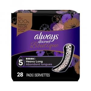 Always Discreet Boutique Heavy Long Pads