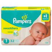 Pampers Size 1 Swaddlers Jumbo Pack