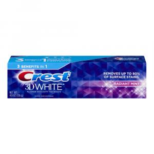 Crest 3D White Radiant Mint Toothpaste