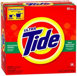 Tide Mountain Spring Powder Laundry Detergent