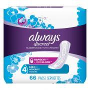 Always Discreet Pads Moderate