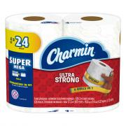 Charmin Ultra Strong Super Mega Rolls