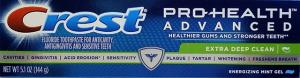 Crest Pro-health Extra Deep Clean Toothpaste