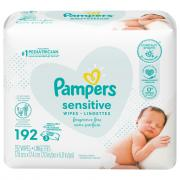 Pampers Sensitive Baby Wipes 3x Refill