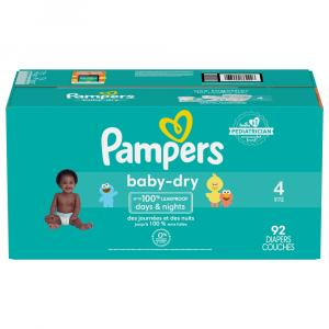 Pampers Size 4 Baby Dry Super Pack