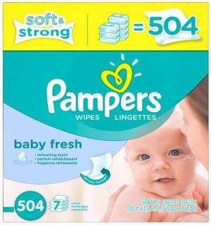 Pampers Baby Fresh Baby Wipes Refill