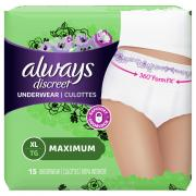 Always Discreet Underwear Maximum Extra-Large