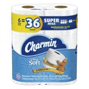 Charmin Super Mega Ultra Soft Bath Tissue
