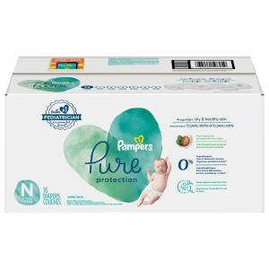 Pampers Newborn Pure Protection Super Pack Size