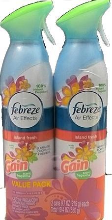 Febreze Air Effects Island Fresh Bundle