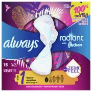 Always Radiant Regular Scent Pads
